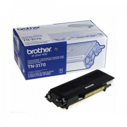 TONER LASER ORIGINAL BROTHER TN3170 NOIR 7000 PAGES