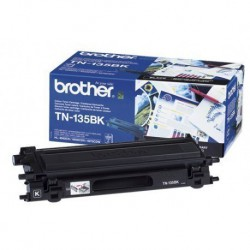 TONER LASER ORIGINAL BROTHER TN135 NOIR 5000 PAGES