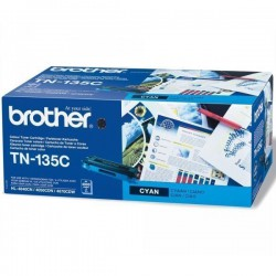 TONER LASER ORIGINAL BROTHER TN135 CYAN 4000 PAGES