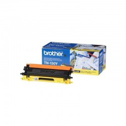TONER LASER ORIGINAL BROTHER TN130 JAUNE 1500 PAGES