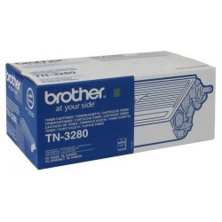 TONER LASER ORIGINAL BROTHER TN3280 NOIR 8000 PAGES