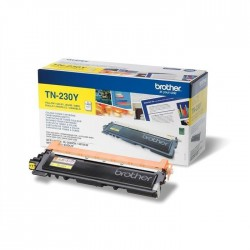 TONER LASER ORIGINAL BROTHER TN230 JAUNE 1400 PAGES