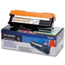TONER LASER ORIGINAL BROTHER TN320 NOIR 2500 PAGES