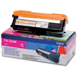 TONER LASER ORIGINAL BROTHER TN320 MAGENTA 1500 PAGES
