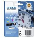 PACK DE 3 CARTOUCHES JET D'ENCRE ORIGINAL EPSON T2705 CMJ 3x3.6ML