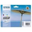PACK DE 4 CARTOUCHES JET D'ENCRE ORIGINAL EPSON T0445 CMJN