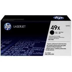 TONER LASER ORIGINAL HP Q5949X NOIR 49X 6000 PAGES