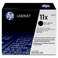 TONER LASER ORIGINAL HP Q6511X NOIR 11X 12000 PAGES