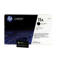 TONER LASER ORIGINAL HP Q6511A NOIR 11A 6000 PAGES