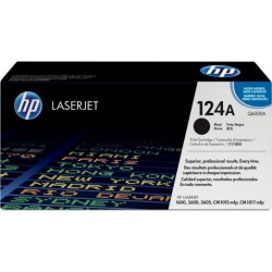 TONER LASER ORIGINAL HP Q6000A NOIR 124A 2500 PAGES
