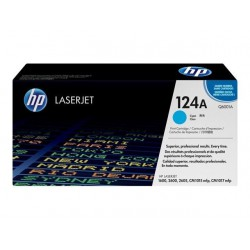 TONER LASER ORIGINAL HP Q6001A CYAN 124A 2000 PAGES