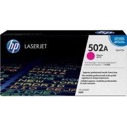 TONER LASER ORIGINAL HP Q6473A MAGENTA 502A 4000 PAGES