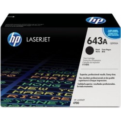 TONER LASER ORIGINAL HP Q5950A NOIR 643A 11000 PAGES