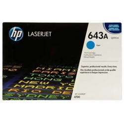 TONER LASER ORIGINAL HP Q5951A CYAN 643A 10000 PAGES