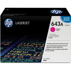 TONER LASER ORIGINAL HP Q5953A MAGENTA 643A 10000 PAGES