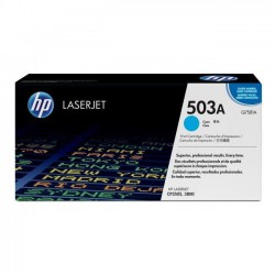 TONER LASER ORIGINAL HP Q7581A CYAN 503A 6000 PAGES