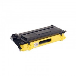 TONER LASER PREMIUM BROTHER TN135 HC JAUNE 4000 PAGES