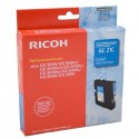 CARTOUCHE GEL ORIGINAL RICOH AFICIO GC21 / 405533 CYAN 1000 PAGES