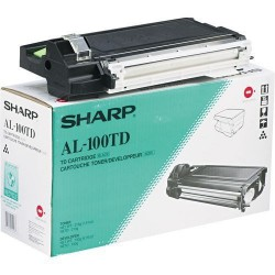 TONER PHOTOCOPIEUR ORIGINAL SHARP AL100TD NOIR
