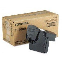 LOT DE 2 TONERS ORIGINAL TOSHIBA T1600E / T2500 NOIR 15000 PAGES