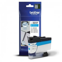 CARTOUCHE ORIGINAL BROTHER LC3237XLC CYAN 1500 PAGES
