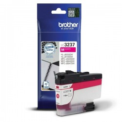 CARTOUCHE ORIGINAL BROTHER LC3237XLM MAGENTA 1500 PAGES