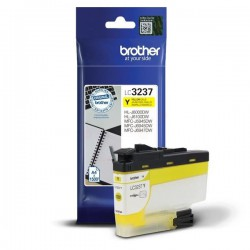 CARTOUCHE ORIGINAL BROTHER LC3237XLY JAUNE 1500 PAGES