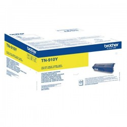 TONER LASER ORIGINAL BROTHER TN910Y JAUNE 9000 PAGES